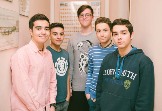 Clase de apoyo para alumnos de ESO en Córdoba
